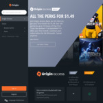 [PC] Origin Access Basic $1.49 for Your First Month