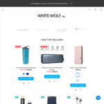Grand Opening Sale 40% off Mobile Phone Accessories with $5 Flat Shipping @ White Wolf Co