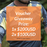 Win up to $200 (USD) in NZO Active Vouchers from Nzo Active