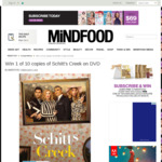 Win 1 of 10 Copies of Schitt's Creek on DVD Worth $29.95 from MiNDFOOD