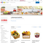 25% off First Coles Orders @ eBay (No Min Spend | $50 Max Discount | First 5000 | Selected Metro Areas of Melb-Syd-Bris)