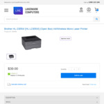 Brother HL-L2305W Mono Laser Printer Wi-Fi (Open Box) $39 Vic Pickup or + Delivery @ Landmark Computers