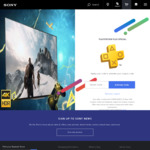 """PlayStation Plus Members: Discounted TV's on Sony Store (50% off RRP) - KD558AF $1999, KD658AF $2999, 49"""" X75F LED $724.50"""