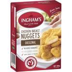 1/2 Price Ingham's Frozen Chicken Breast Nuggets 400g $2.50 @ Woolworths