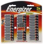 Energizer Max Alkaline AA Batteries 30 Pack $18.49 (Was $25.00) + Delivery (Free with Prime/ $49 Spend) @ Amazon AU