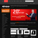 20% off Sonos - One $239.20, Play:1 $183.20, Beam $479.20 & more + $20 Delivery (Free with $500 Spend) @ Klapp Audio Visual