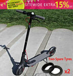 Xiaomi M365 Folding Electric Scooter International Version with 2 Spare Tyres $509.96 Delivered @ Gearbite eBay