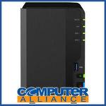 [eBay Plus] 2 Bay Synology DS218+ 2GB DiskStation Gigabit NAS Unit $381.65 Delivered @ Computer Alliance eBay