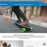 US $100 off W2 Electric Skateboard ($597 US / $880 AU) / $300 off Carbon AT ($1,099 US / $1,618 AU) @ Ownboard