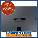 """Samsung 1TB 2.5"""" 860 QVO - $135.20 + Delivery (Free with eBay Plus) @ Computer Alliance eBay"""