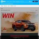 Win a 20MY Mitsubishi Triton Worth $54,000 from Network Ten