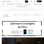 10% off Selected Smart Wifi/Zigbee Downlights (e.g Brilliant Wifi 9W Downlight $34.65 Shipped) @ Lectory.com.au