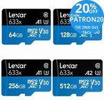 Lexar 633x MicroSD 64GB - $13.48, 256GB - $42.40 Delivered @ Tech Mall eBay