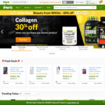 Upsized 20% Cashback (Was 4%) via ShopBack + Free Shipping on Orders over USD $20 @ iHerb