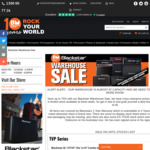 Up to 75% off Blackstar Amps, Cabs and Combo Amps (Blackstar TVP 15W 1x10 Amp $269) @ Belfield Music