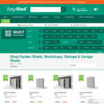 Black Friday Sale at EasyShed.com.au | 40-50% off Garden Sheds