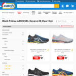 Black Friday: ASICS GEL-Kayano 26 $169 (RRP $259) + Delivery (Free Delivery for Club Catch Members) @ Catch