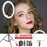 "Neewer 18"" LED Upgraded Slim Ring Light Full Kit - $87.99 Delivered @ Peak Catch via Amazon Au"