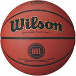 Wilson NBL Solution Official Game Basketball, Size #7 - Composite Leather (Indoor Use) $49.98 Delivered @ Amazon AU
