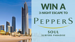 Win a 3N Stay at Peppers Soul Surfers Paradise for 4 Worth $2,868 from Seven Network