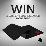 Win a Tt eSports Dasher Flow Extended Mousepad Worth $45 from Thermaltake ANZ