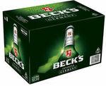 Becks 24pk $38.28 Delivered @ CUB eBay