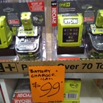 [WA] Ryobi 18V 4AH Battery + Charger $99, 2AH Battery + Charger + Drill Driver $99 @ Bunnings Whitfords