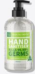 Skin Nutrient Hand Sanitisers 500ml $19.95, 250ml $12.95