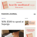 Win a $500 Superga Voucher from Fashion Journal