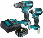 Makita 18V 2 Piece Brushless Cordless Combo Kit $279 (DLX2283ST1) @ Bunnings