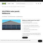 [VIC] IKEA Solstrale Solar Panels 6.6kW System from $3227* (Melbourne, For Homes Within 100km from IKEA Store)