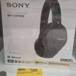 Sony Wireless Noise Cancelling Headphones WH-CH700N $100 (RRP $239) @ Target (Selected Stores)