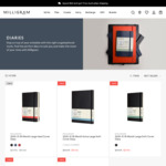 30% off Moleskine 18 Month Diaries + Free Express Shipping over $49 in Vic @ Milligram