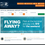 [QLD] Weekend Parking from $19 @ Brisbane Airport