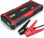 GOOLOO Upgraded 2000A Peak SuperSafe Car Jump Starter USB QC3.0 Battery Booster Power Type-C $98.99 Delivered @ GOOLOO Amazon AU
