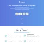 Win $2,000 Cash from Financr