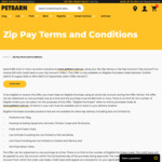 $10 Credit When You Spend $50 Or More via Zip Pay @ Petbarn