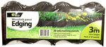 Whites Outdoor Wavelock Panel Edging - 20 Pack 3m Total Length $1.26 (RRP $12.25) @ Bunnings (Special Order in Stores)