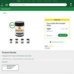 Coco Earth MCT Powder 300g at $21 (Save $14) @ Woolworths