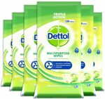 [Prime] Dettol Multipurpose Cleaning Wipes Apple Bundle 720 (6x120s) $28.14 ($23.94 w/ S&S) Delivered @ Amazon AU