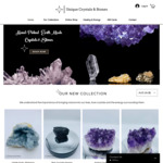 10% off First Order + Free Shipping @ Unique Crystals & Stones