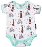 40% off Woodland Fox Short Sleeve Onesie Bodysuit by Aster & Oak $14.97 (Was $24.95) + $6 Shipping @ Babies.com.au