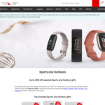 Up 40% off Garmin, Fitbit, Suunto Wearables @ Qantas Store