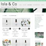 Australian Natural Skincare 50% off All Products @ Isla & Co Skincare