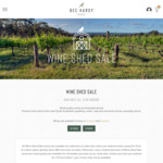 5* Halliday Producer - 8 Premium SA Wines & 5 Mixed Cases from $45/6pk or $79/Doz & Free Shipping @ Bec Hardy Wines