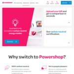 $100 Credit (Paid in 4 Instalments of $25 Every 30 Days) for Referrers and Referees @ Powershop