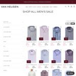 40-70% off Everything in Store & Online (Free Shipping over $100) @ Van Heusen