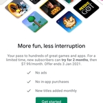[Android] Google Play Pass 2 Months Free Trial then $7.99/Month or $49.99/ Year