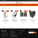 [Preorder] New P44 Speakers $138, S8 Subwoofer $199 + Warehouse Clearance Speakers from $30 Shipped @ Voll Audio