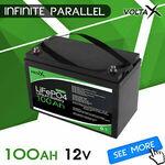 [Afterpay] VoltaX Lithium LiFePO4 12V Li-ion Batteries: 100Ah $320, 135Ah $439.20, 200Ah $719.20 Delivered @ jewelleryidea eBay